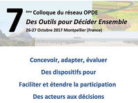 Colloque OPDE